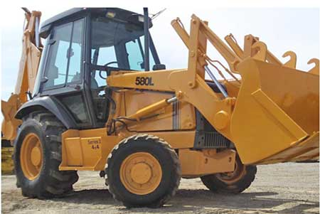 1998 CASE 580L Backhoe For Sale